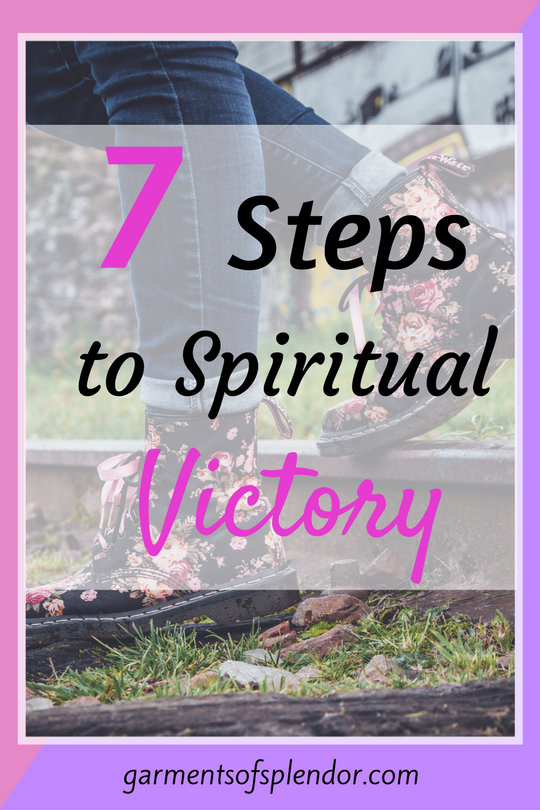 Find victory over your circumstances by following these seven important steps--straight from God's Word!