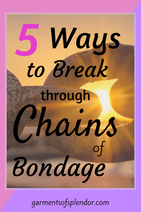 Find out FIVE ways God sets you free from sin from bondage from an often overlooked Old Testament story.