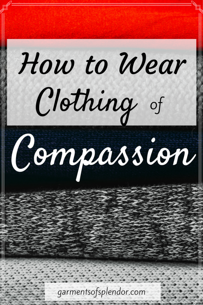 God clothes us with compassion--and he equips us to clothe others with the same love and grace he has lavished on us. Find out how to clothe yourself with compassion by checking out this post!