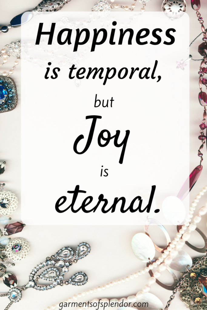 Find true joy in the love of Christ!