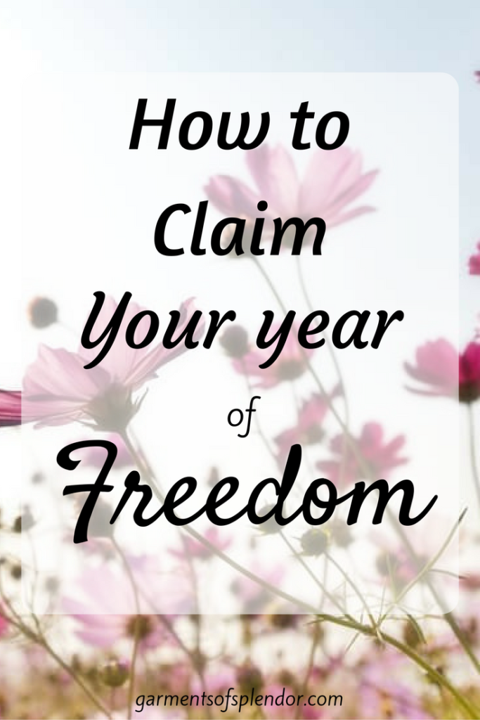 Discover how to live in true freedom in Christ this year!