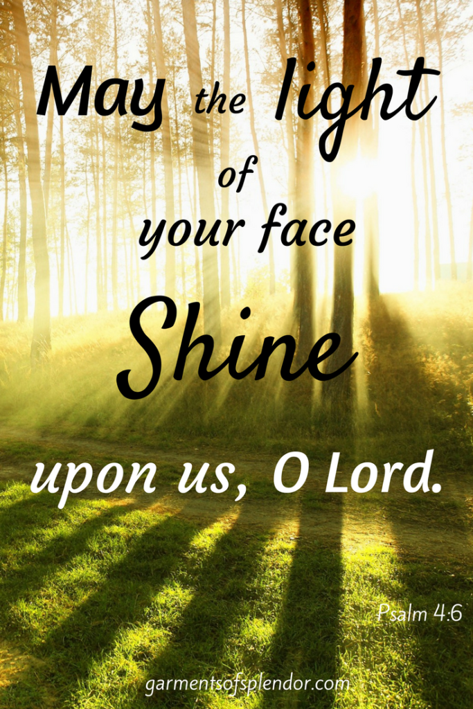 Encounter the face of Christ through the splendor of His holiness.