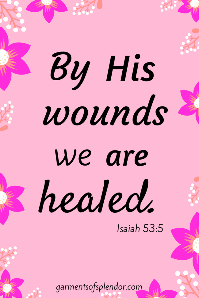 There is healing in His hem!