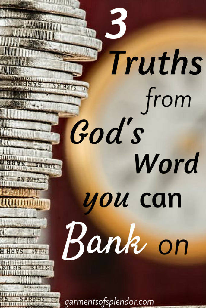 In Christ, your spiritual bank account is ALWAYS full!