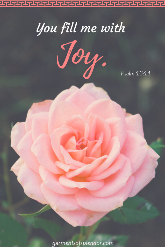 Praying you are filled with God's joy today!