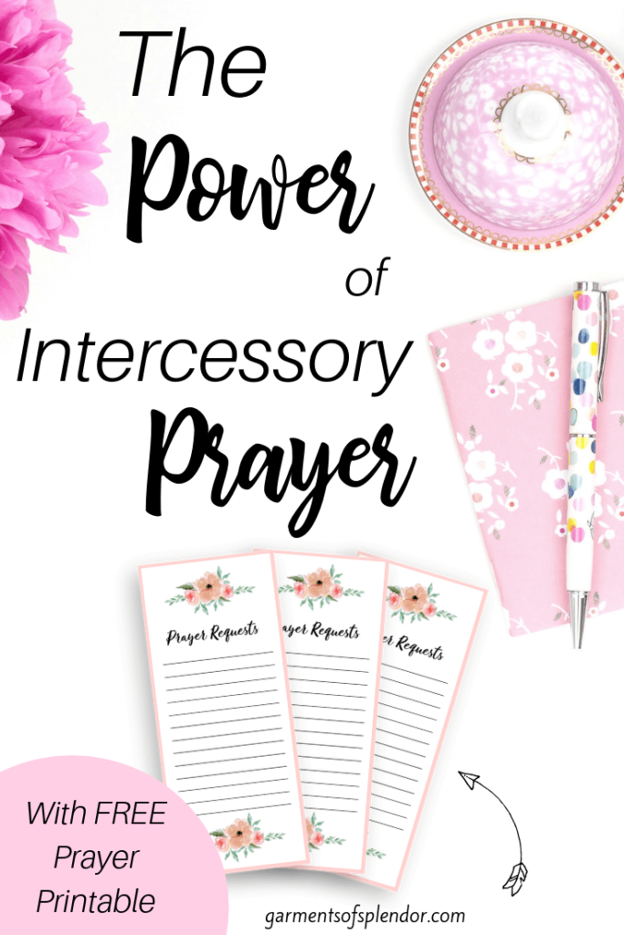 The Power of Intercessory Prayer -