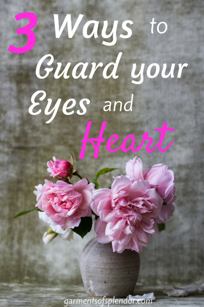 Guard your heart and mind with the Word of God!