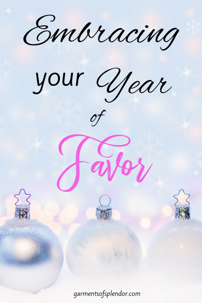 Enter this year with God's grace and favor!
