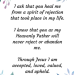 A Prayer for those who have been Rejected