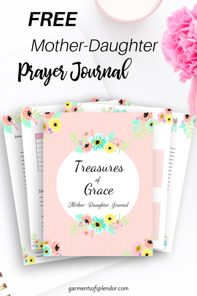 free mother-daughter prayer journal