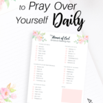35 Scriptures to Pray Over Yourself (with Scripture Reading Plan)