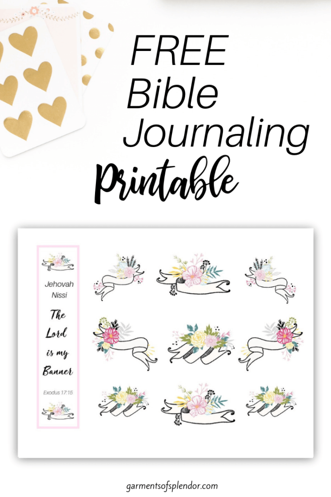picture about Bible Study Journal Printable referred to as Record of Totally free Bible Journaling Printables -