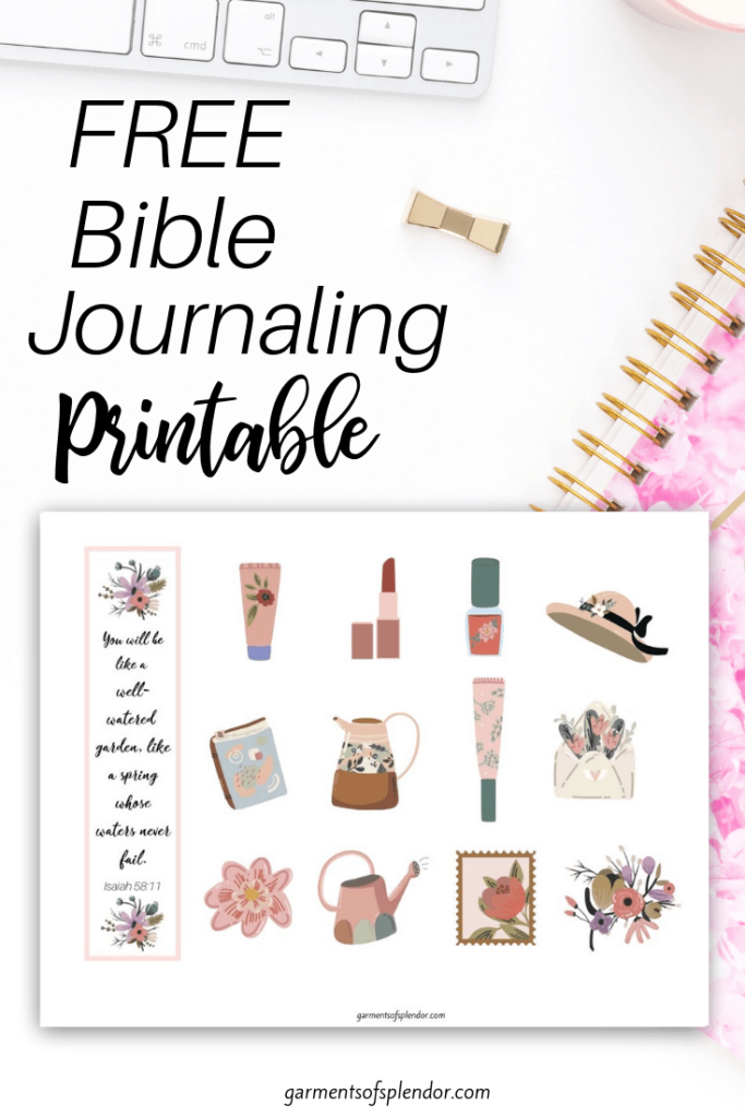 photograph about Free Printable Bible Study Journal Pages identify Listing of Totally free Bible Journaling Printables -