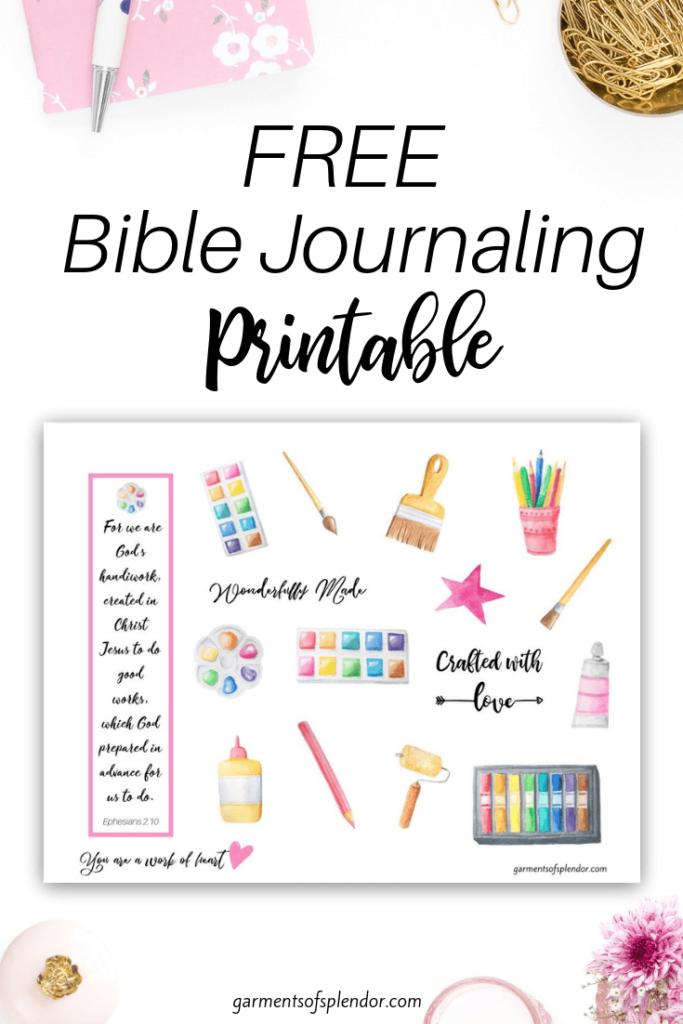 free journaling page