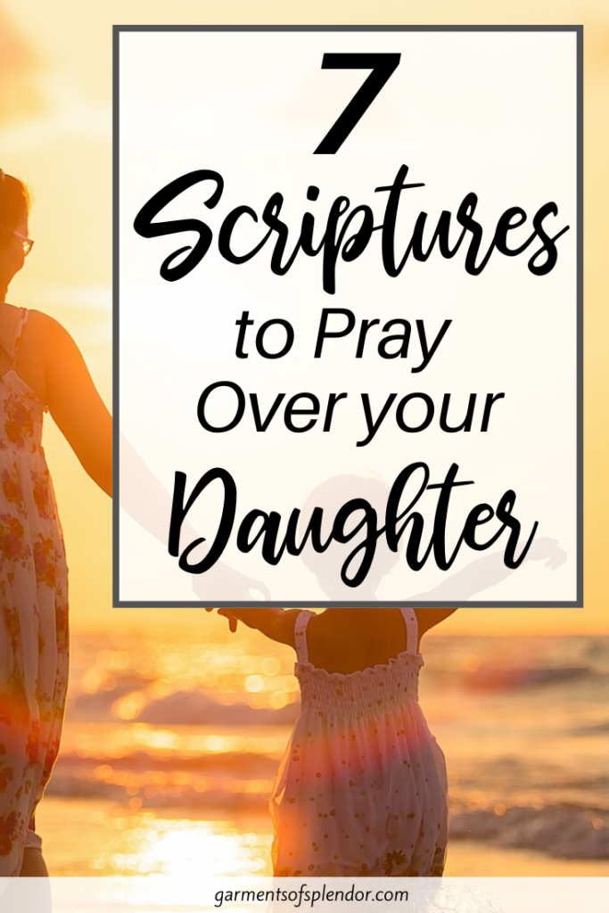 praying for your daughter