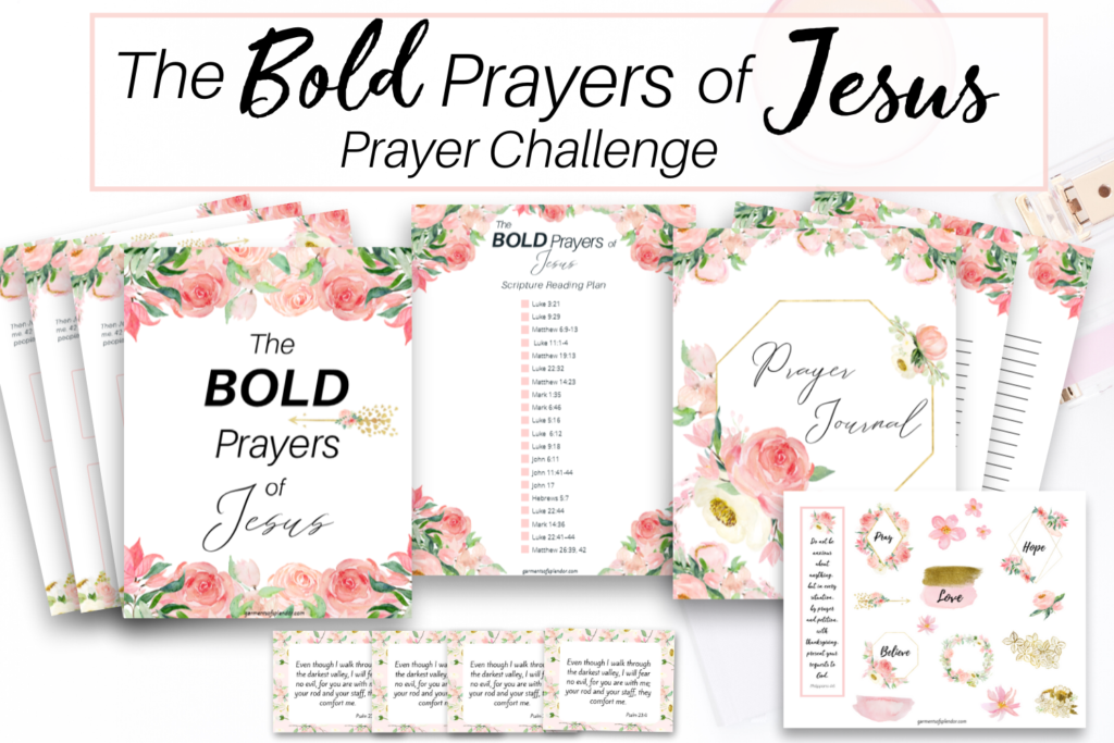 Bold prayers of Jesus challenge