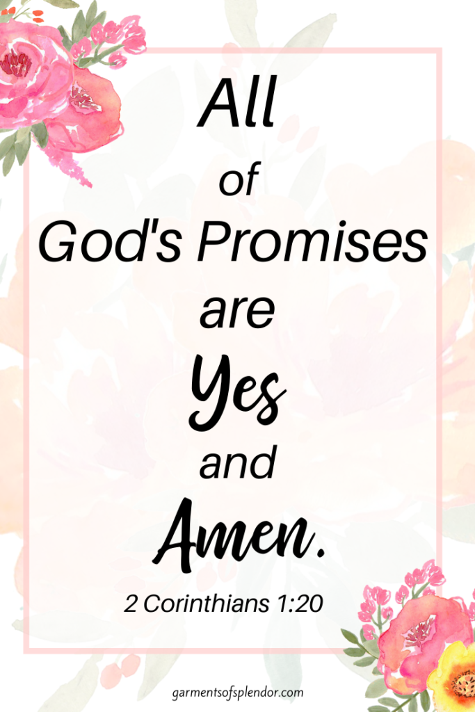promises of God are yes and amen