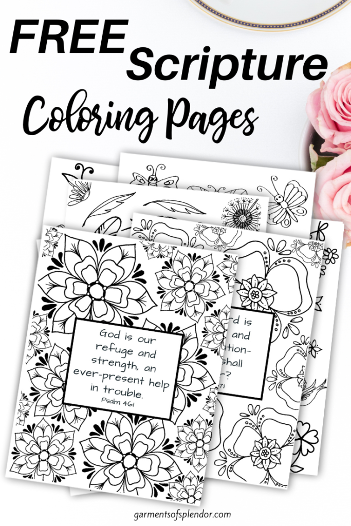 - Free Printable Bible Verse Coloring Pages -