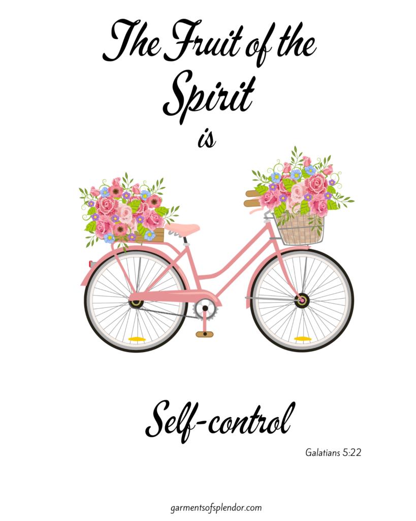 fruit of the spirit bible printable