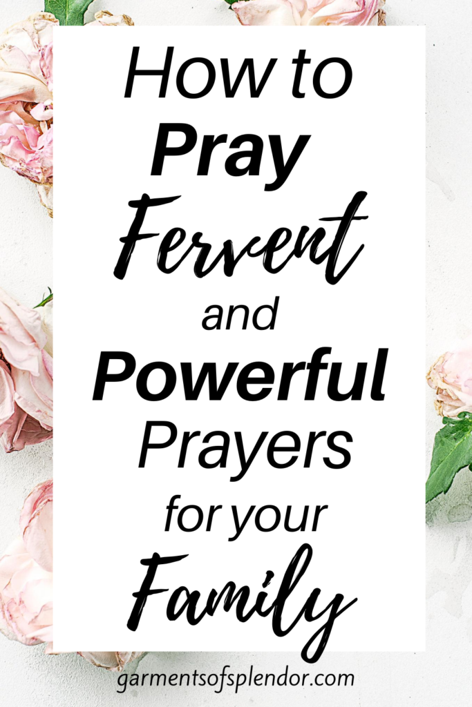 pray for your family 3