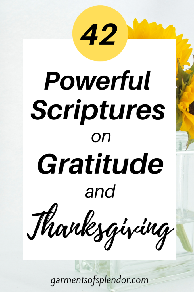 bible verses on thanksgiving and gratitude